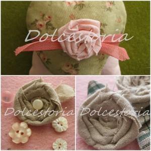 Come realizzare delle roselline di stoffa: tutorial fotografico