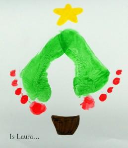 La foto del giorno: l'albero con i piedini di Laura