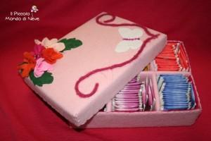 La foto del giorno: la scatola porta tisane di Alice