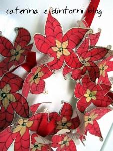 Come realizzare una ghirlanda di Natale con carta vintage: tutorial