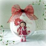 La foto del giorno: la sfera natalizia di Silvia