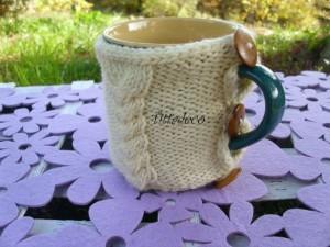 Come realizzare dei copri tazza in maglia: tutorial e schema