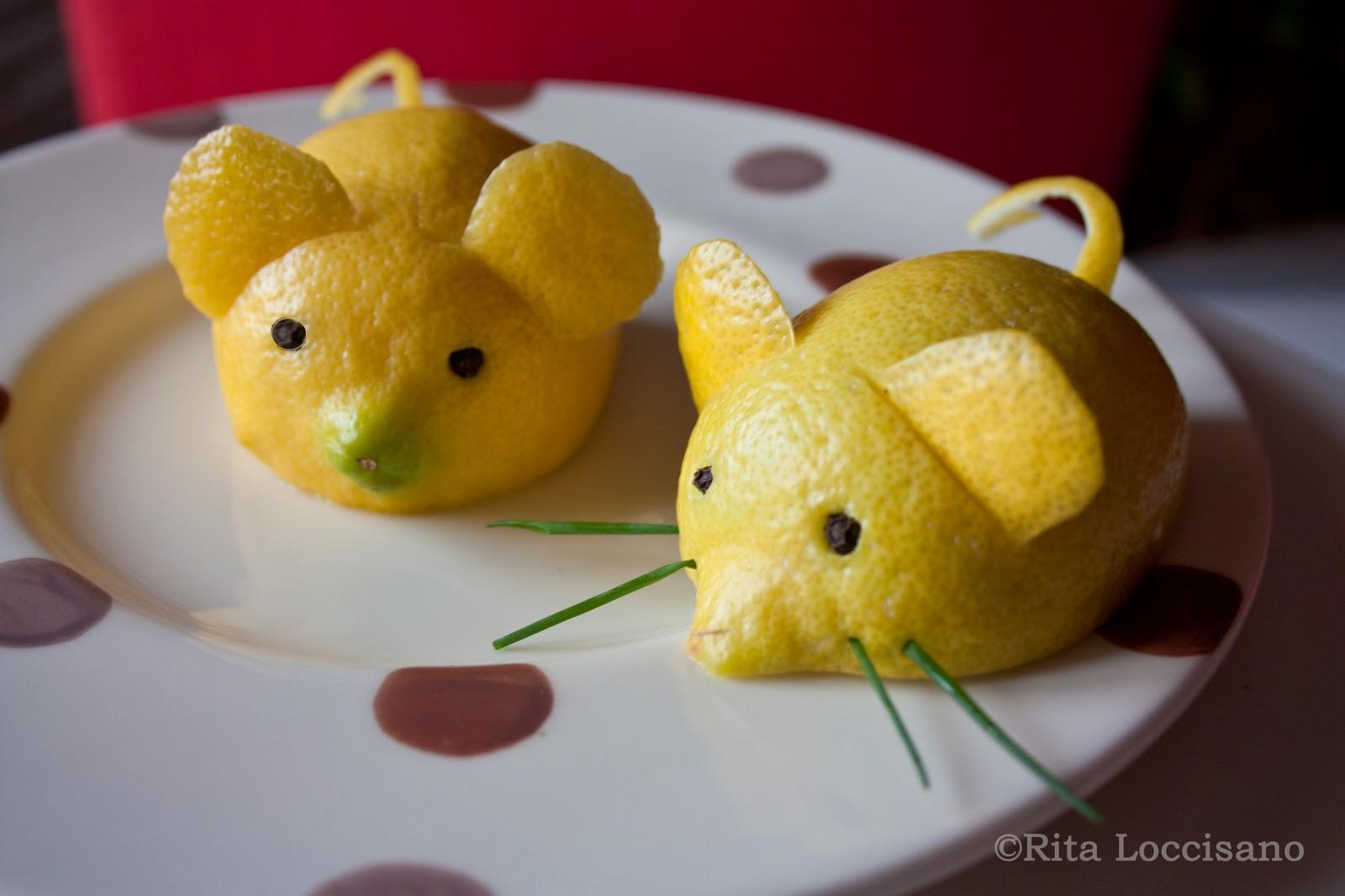 Come realizzare dei topolini di limone: video tutorial