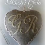 La foto del giorno: il cuore con le iniziali di Micky Creativa