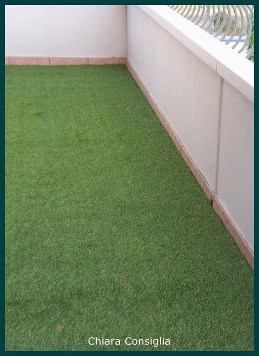 Come Trasformare Un Terrazzo In Un Giardino - Erba Finta Da Giardino ...