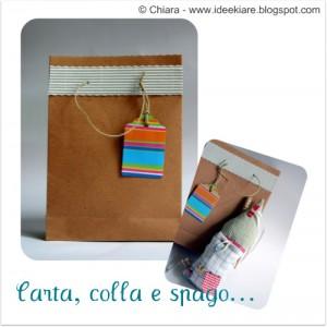 Come realizzare e decorare dei sacchetti di carta: tutorial