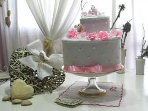 La foto del giorno: la wedding cake di Tamara