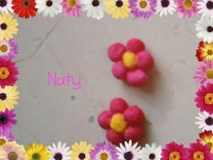 La foto del giorno: i fiori in pasta di mais di Naty