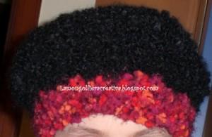La foto del giorno: il cappello in lana di Stefania