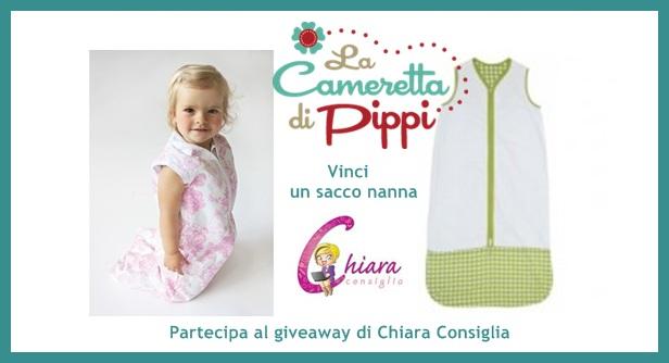 Giveaway: vinci un sacco nanna a scelta offerto dalla Cameretta di Pippi