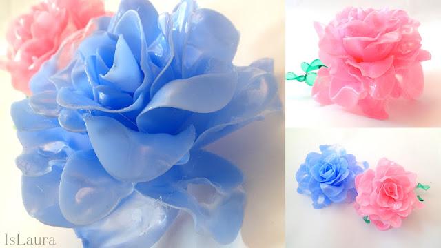 Come realizzare i fiori con i cucchiaini in plastica: tutorial fotografico