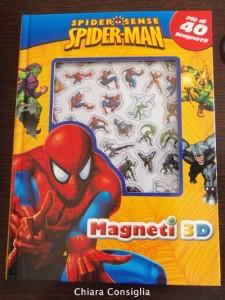 Spiderman Magneti 3D…più di un semplice libro!!!!
