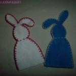 La foto del giorno: coniglietti in feltro