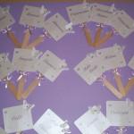 La foto del giorno: le palette per la confettata di Sara