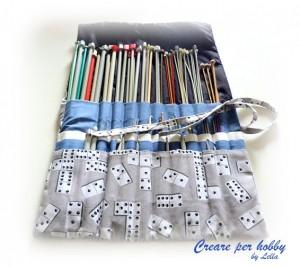 Idee e tutorial per mettere in ordine gli attrezzi da cucito e da lavoro a maglia