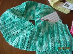 La foto del giorno: le sciarpine in cotone di Ottavia
