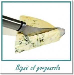 bignè al gorgonzola
