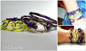 Come realizzare dei bracciali con materiali di recupero