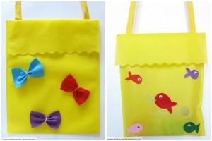 Come realizzare una semplice borsetta per bambine