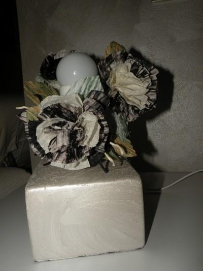 La foto del giorno: la lampada decorata con la Twist Art di Erica
