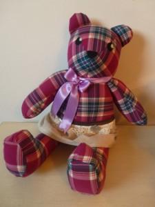 Come realizzare un orsetto di stoffa: cartamodello