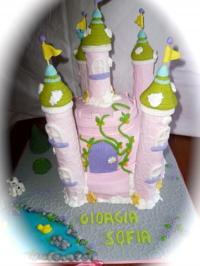 La foto del giorno: il castello in pasta di zucchero di Sabrina