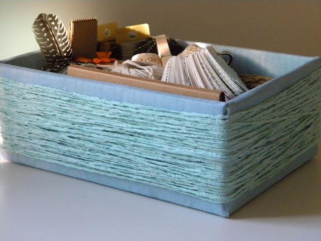 Come realizzare una scatola rivestita in tessuto tutorial for Foderare una scatola
