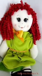 La foto del giorno: la bambola di pezza di Francesca