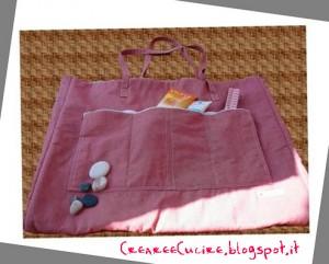 La foto del giorno: la borsa da spiaggia di Silvana