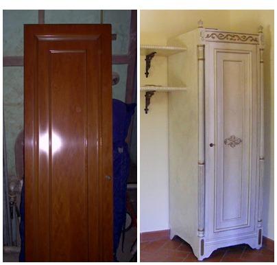 Come trasformare un vecchio armadio