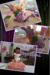La foto del giorno: il cake topper per la torta di compleanno di Chiara