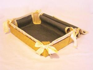 Come realizzare un cesto porta pane: tutorial