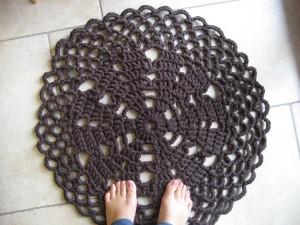 La foto del giorno: il tappeto crochet rug di Barbara