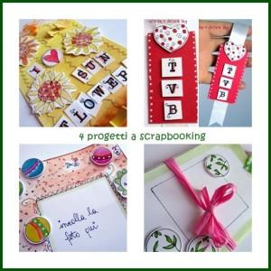 4 progetti a scrapbooking