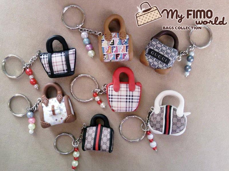 La foto del giorno: portachiavi mini borse di Cristina