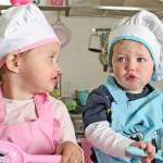 Idee regalo per Natale: grembiulini, cappelli da cuoco per bambino e set muffin