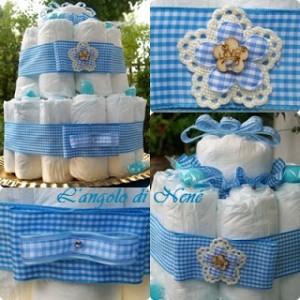 La foto del giorno: la torta pannolini di Antonella