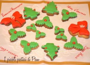 Biscottini natalizi alla vaniglia