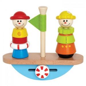 Balance Boat di  Hape Toys: l'equilibrio in gioco