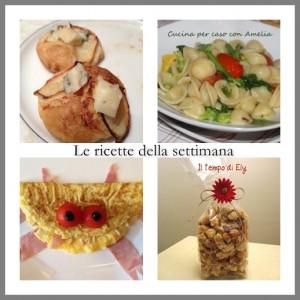 le ricette della settimana