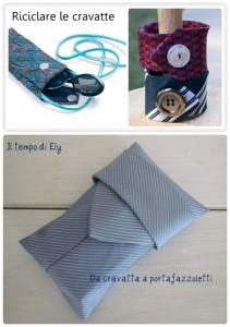 riciclare le cravatte