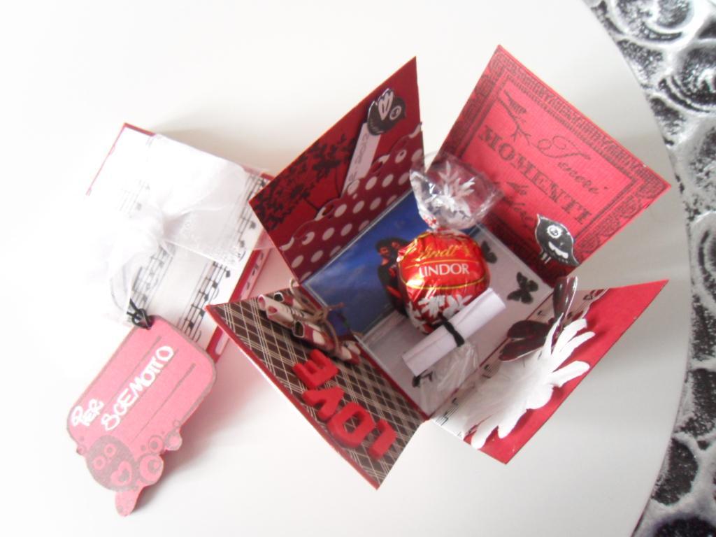 La foto del giorno la scatola a sorpresa di erica - San valentino idee romantiche ...