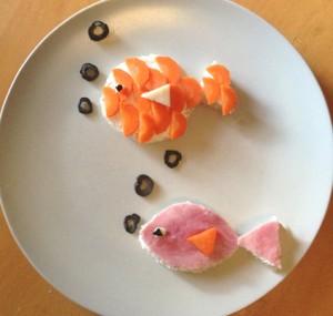 pesci tartine