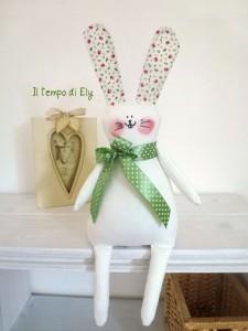 Un coniglio di stoffa: Cartamodello disponibile