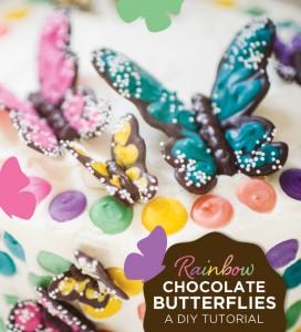 Come realizzare le farfalle di cioccolato