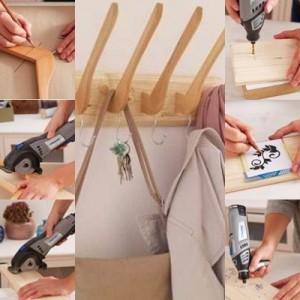 Come realizzare un appendiabiti in legno: tutorial fotografico