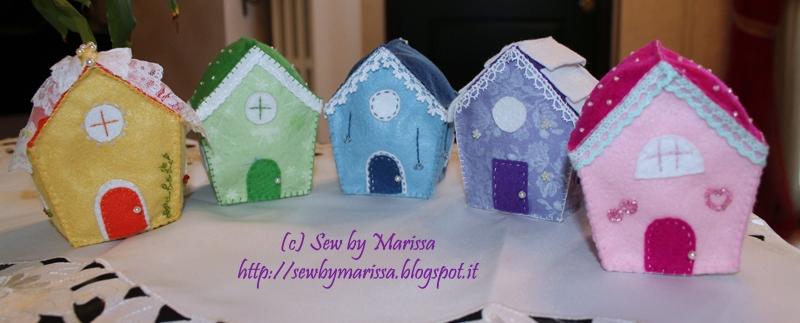 La foto del giorno: le casette in feltro di Marissa