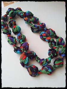 La foto del giorno: la collana con puff stitch di Valentina