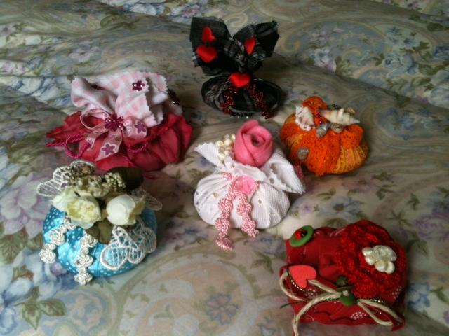 La foto del giorno: le saponette ricoperte e decorate di Stefania