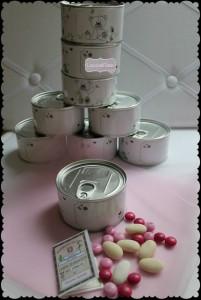 La foto del giorno: le bomboniere in scatola di Tania
